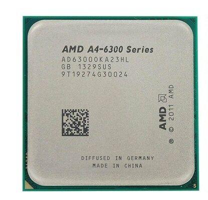 AMD正品 A4-6300K/6400混发  cpu 3.7G 双核 FM2 APU二代集成显卡散片