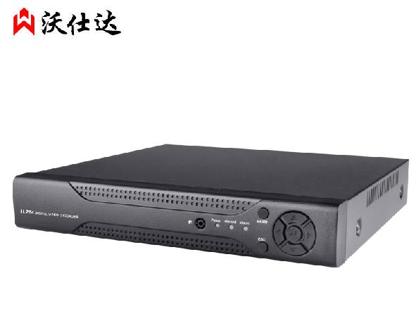 沃仕达 16路960P 6816T-F 百万高清 数字监控 NVR网络 硬盘录像机