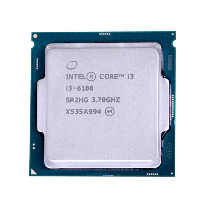 英特尔i3-6100正品散片1151针 3.7GHZ全新正式版配B150M z170