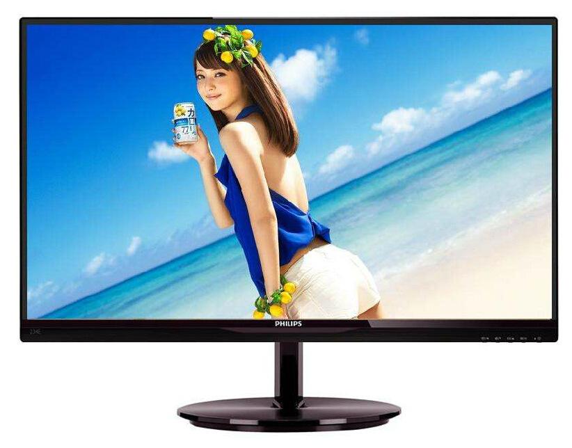 飞利浦 274E5QSB/93 27英寸窄边框IPS超薄显示器/Philips 黑色