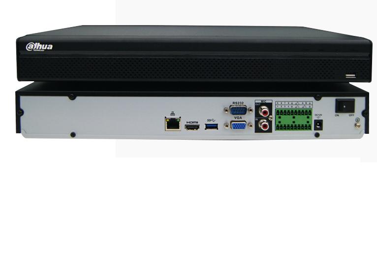 大华8路H.265双盘DH-NVR4208-HDS2高清4K网络硬盘录像机