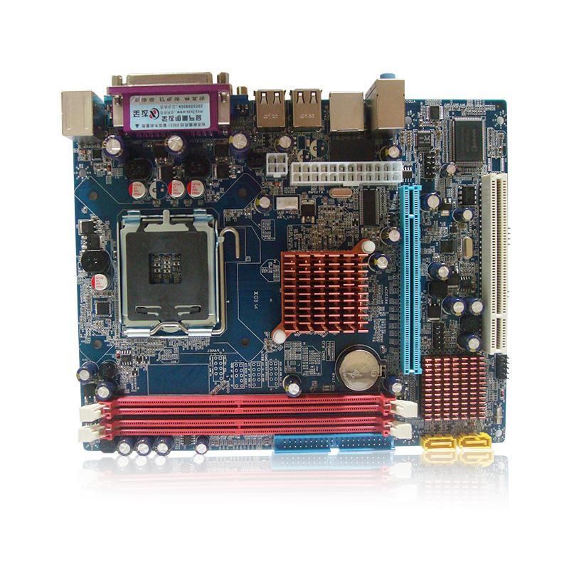 全新G31CFL主板 DDR2/775针 全集成支持赛扬酷睿系列CPU 工包