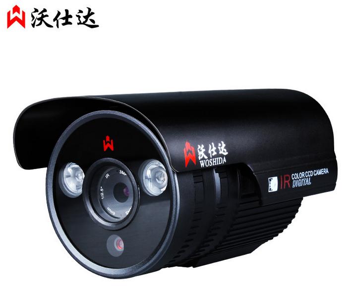 赔本促销沃仕达 W101H2H 双灯百万高清网络监控摄像头 100万高清 网络720P监控头
